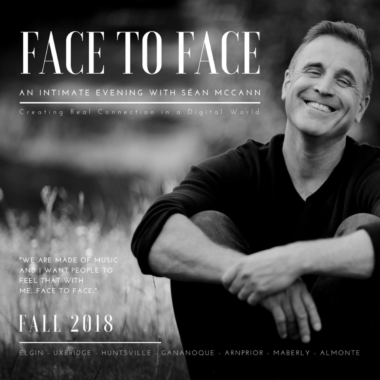 Sean McCann-Face to Face